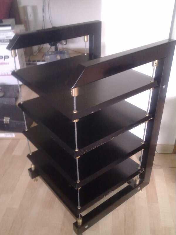 pro string hi fi rack canorus 1 gebraucht kaufen highend. Black Bedroom Furniture Sets. Home Design Ideas